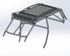 RZR XP1000/ Turbo S - 4 Seater Prerunner DIY Cage